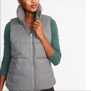 Old Navy Puffer Vest  Color:Heather Grey Size XXL